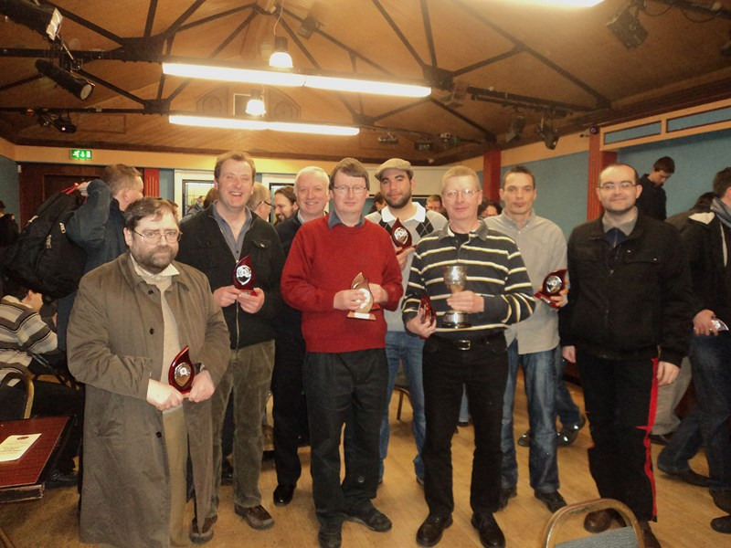 Phibsboro Chess Club Leinster League Armstrong Cup Winning Team 2013