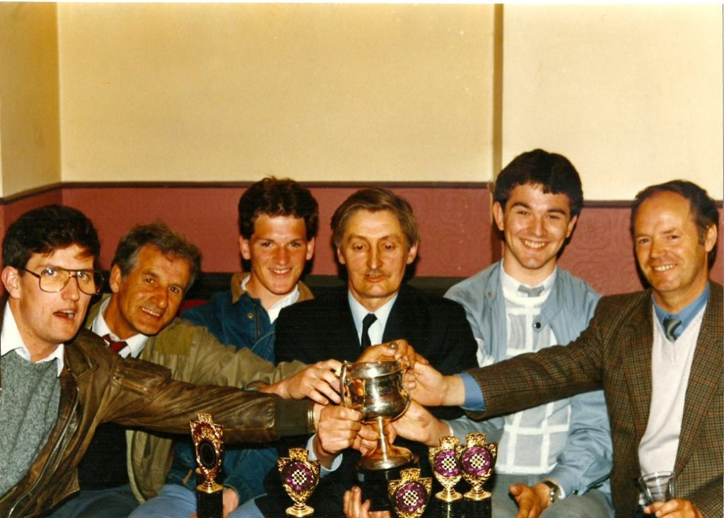 Bodley Cup Winers